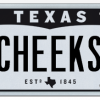 Texas License Plate - Cheeks