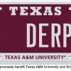 Texas License Plate - Texas A&M - Derp