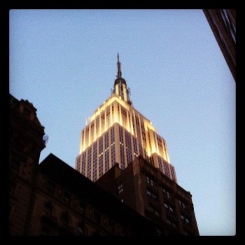 Empire State Building, Instagrammed